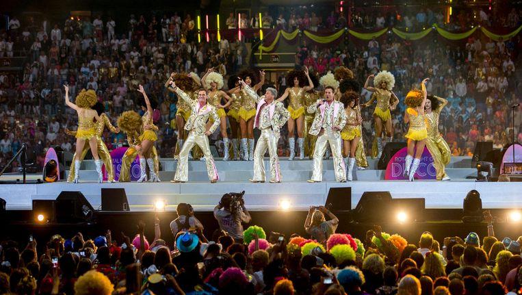 Het Toppers-concert in de Arena vorig jaar Beeld ANP