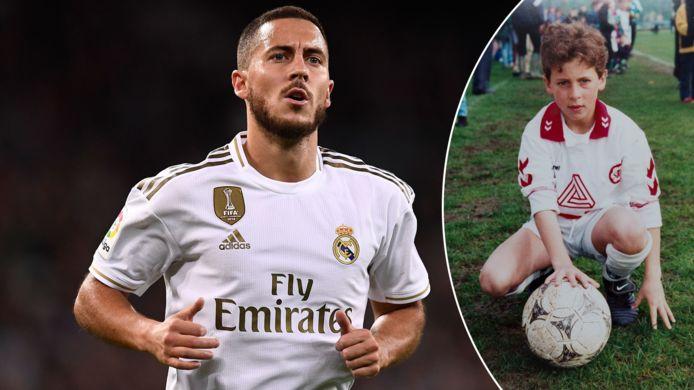 Eden Hazard schopte het tot bij Real Madrid.