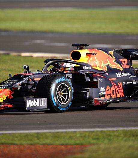 Verstappen 'zeer positief' over eerste meters in nieuwe Red Bull-wagen