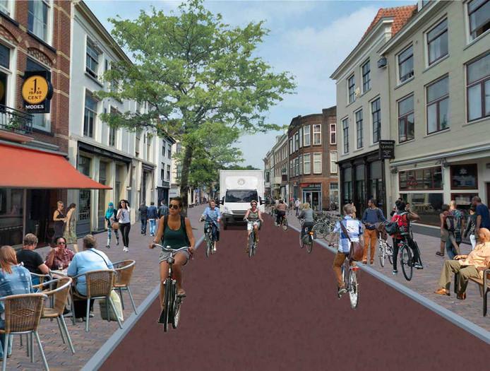 De Voorstraat zou er straks zo uit kunnen zien.