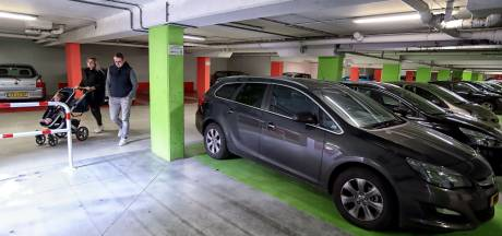 Nieuwe ingang parkeergarage eind maart open