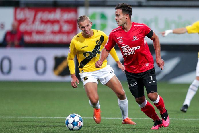 Guus Joppen keert tegen Telstar terug in de wedstrijdselectie, hij is hersteld van een hamstringblessure.