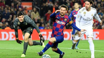 Clásico levert geen winnaar op, Courtois en Real spelen 0-0 gelijk tegen Barça