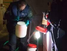 Groot crystal meth-lab opgerold in Herwijnen, drie man opgepakt, buren verbijsterd
