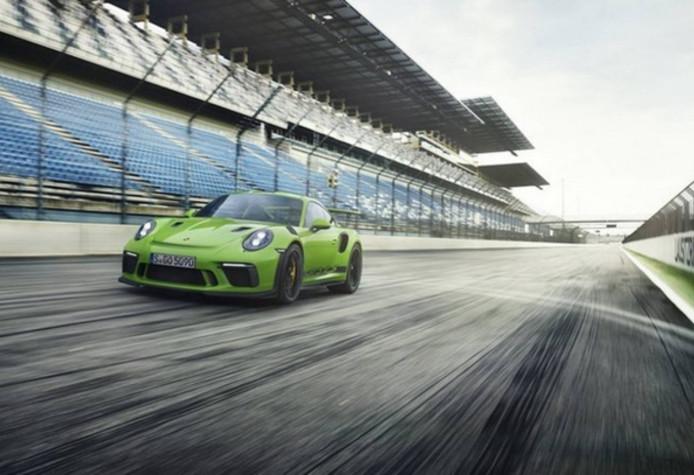 De  nieuwe Porsche 911 GT3 RS