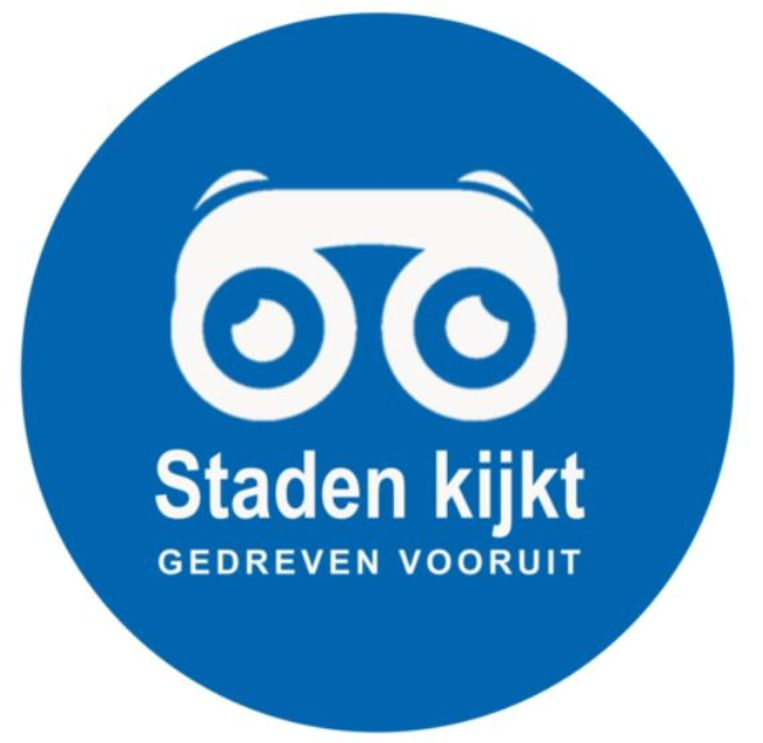 Het nieuwe logo van het Stadense participatietraject