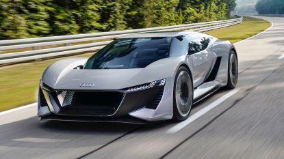 Audi bouwt 50 exemplaren van deze elektrische supersportwagen