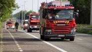 Brandweer reinigt 15 kilometer lang oliespoor