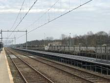 Extra perron op station 't Harde