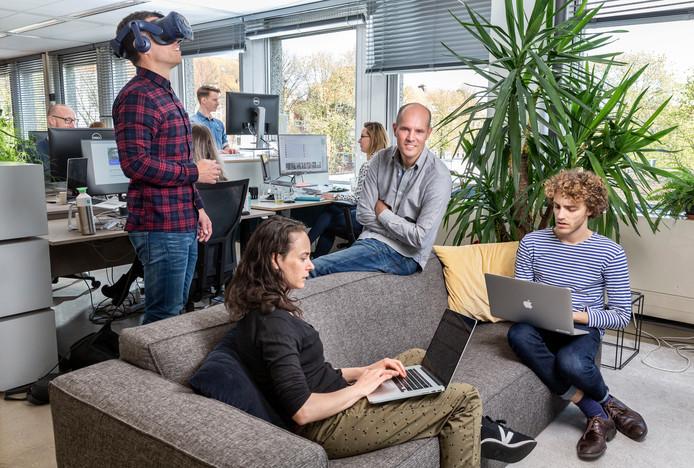 Matthijs Collards (met handen over elkaar) is de directeur van Hike One, het Nederlandse bedrijf dat informatie inwon bij Perpetual Guardian over vier dagen werken.