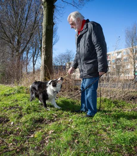 Beter de hond aan de lijn langs Erasmusweg: 'Ik laat hem hier nooit los'