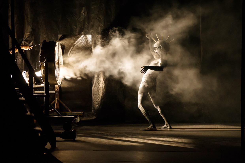 Beeld uit Don Quixote, de voorstelling waarmee donderdagavond de Flamenco Biënnale van start gaat.