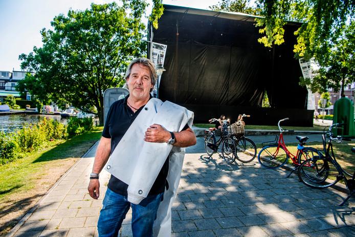 Voorzitter Frans van Breemen is de drijvende kracht van Jazzfestival Hillegersberg.