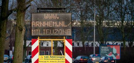 Milieuzone Arnhem even uitgeschakeld: ook diesels twee weken welkom in de stad