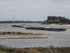 Opnieuw laagterecord Rijn bij Lobith