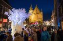 Kerst in Oud Kampen.