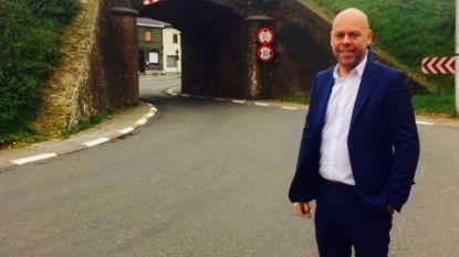Verbreding spoorwegtunnel Erwetegem pas in mei 2019