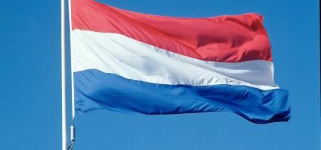 In Heerde worden alle straten versierd tijdens bevrijdingsdag op 17 april 2020