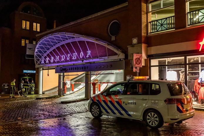 Brand winkelcentrum Arendshof
