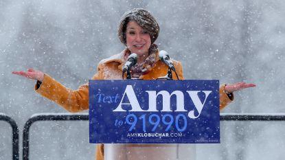 """""""Ik vraag me af wat uw haar zou doen in een sneeuwstorm, president Trump"""""""
