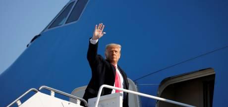 """Trump juge qu'il n'y a """"aucun risque"""" qu'il soit démis en vertu du 25e amendement"""