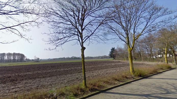 Het gebied ten zuiden van nieuwbouwwijk Vroonacker.
