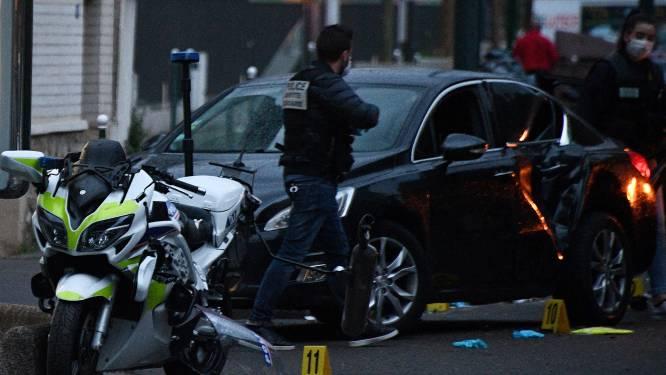 Terrorist rijdt Franse agenten met opzet aan