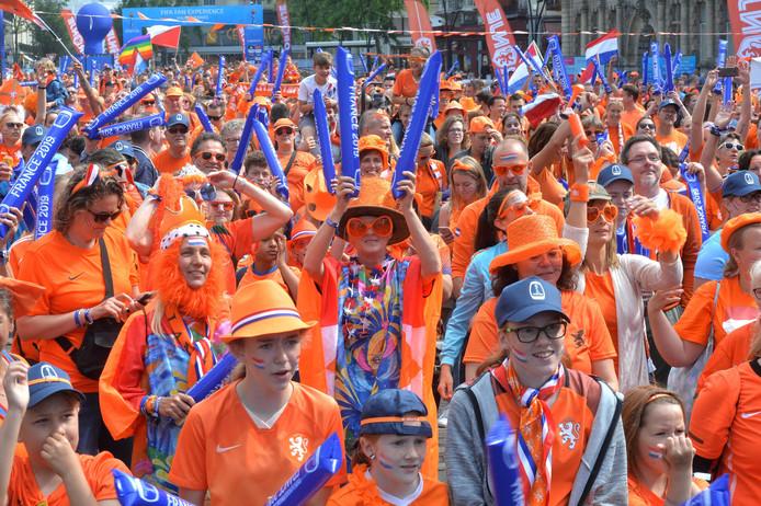 Oranjegekte in Valenciennes