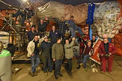 Geld voor bouwlocatie carnavalswagens en onderzoek naar respijthuis in Drimmelen