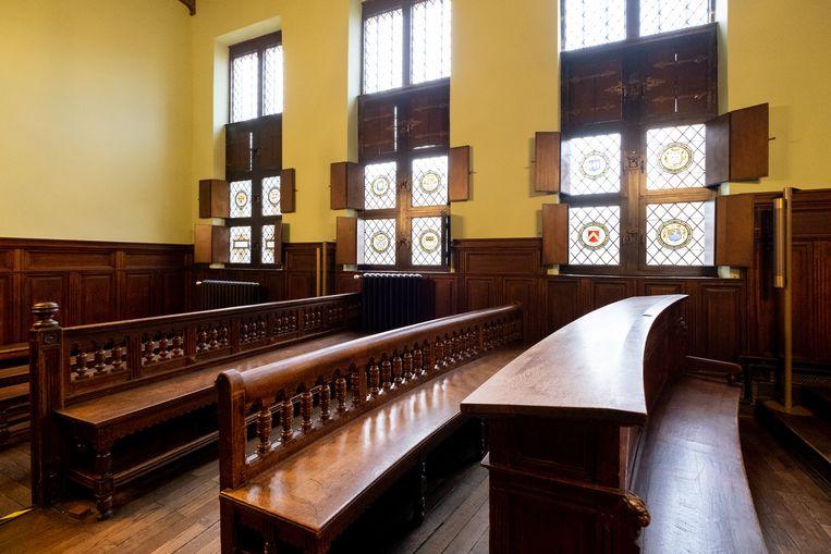 Correctionele zittingzaal in Mechelen.