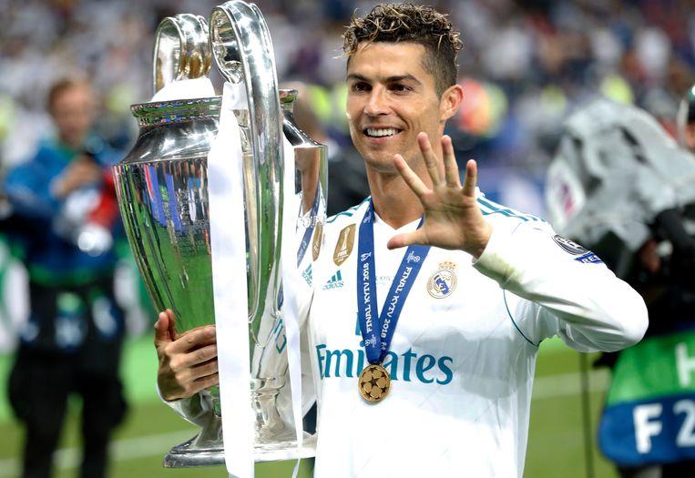 Ronaldo, toen hij nog bij Real Madrid zat.