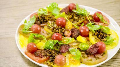 Simpel en speciaal: Loïc brengt een ode aan de tomaat
