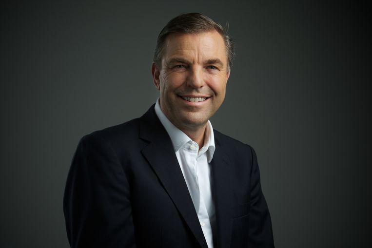 Wiebo Vaartjes, topman van Gibson Innovations: 'De hele omgeving ademt creativiteit. Voor een merk dat techniek, muziek en design voorop heeft staan, is dat heel belangrijk.' Beeld Woox