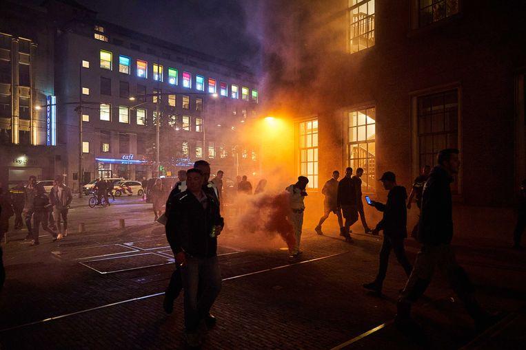 De boerenprotestgroep Farmers Defence Force demonstreert in Den Haag tegen plannen van de regering om de stikstofuitstoot terug te dringen.