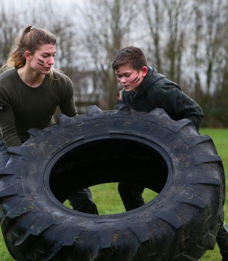 Geen gewone gymles, maar een 'echte' commandotraining in Dussen