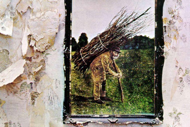 Albumcover van IV van Led Zeppelin Beeld