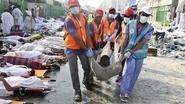 Buitenlandse autoriteiten stellen dodental van drama in Mekka in vraag