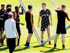 Oranje begonnen aan oefenstage voor Slowakije en Italië