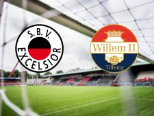 Zet Willem II de sterke reeks voort tegen Excelsior?