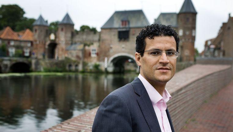 Farid Azarkan in 2009. Beeld Guus Dubbelman / de Volkskrant