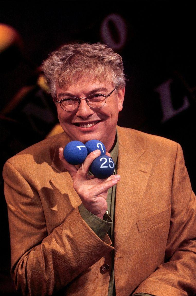 Lingo-presentatoren: François Boulangé (1992 - 2000) © ANP Beeld