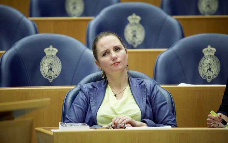 PVV-Kamerlid Fleur Agema. Beeld anp