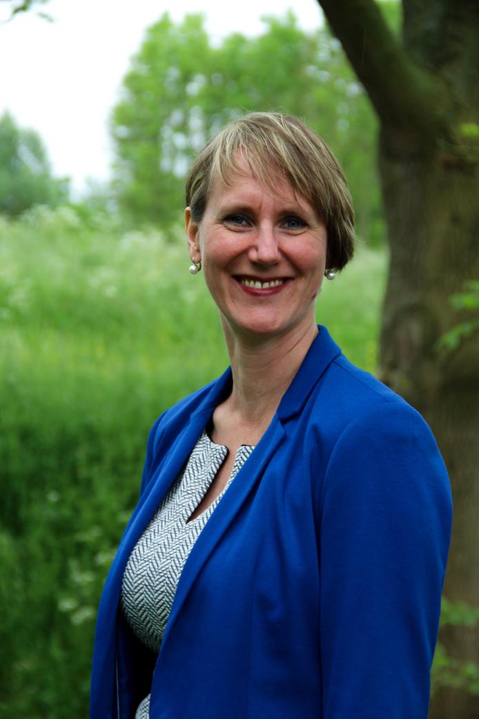 D66 Delft-fractievoorzitter Christine Bel.