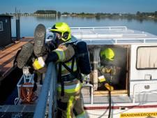 Brandweer koopt eigen motorjacht voor oefeningen bij Eiland van Maurik