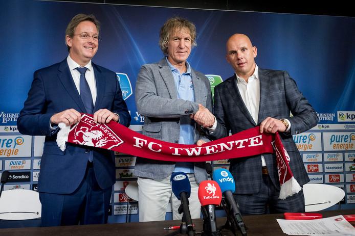 Erik Velderman, Gertjan Verbeek en Jan van Halst.
