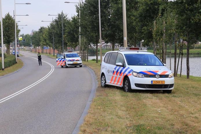 Ook de politie kwam ter plaatse