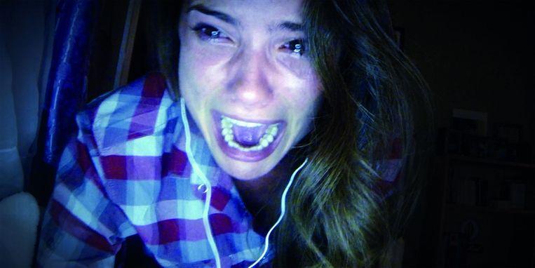 Heather Sossaman in Unfriended. Beeld