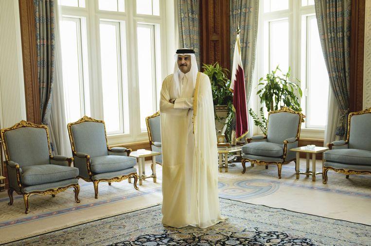 Sjeik Tamim bin Hamad Al Thani van Qatar.