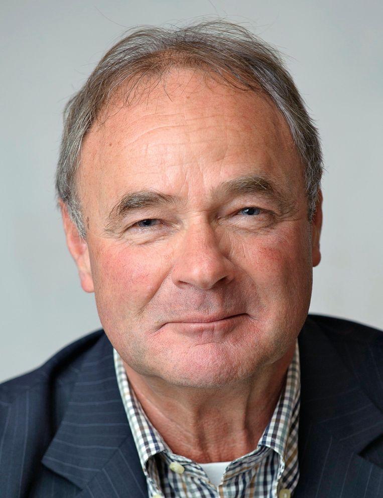 Matt Poelmans (73 ), lid van de van de Omgevingsraad Schiphol Beeld RV