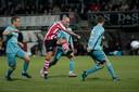 Met een verwoestende uithaal bezorgde Bryan Smeets zijn club Sparta de overwinning op FC Twente.